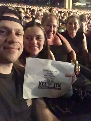 EJ  attended An Evening With Chicago and Their Greatest Hits on Jul 17th 2021 via VetTix
