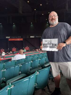 Jags  attended An Evening With Chicago and Their Greatest Hits on Jul 17th 2021 via VetTix