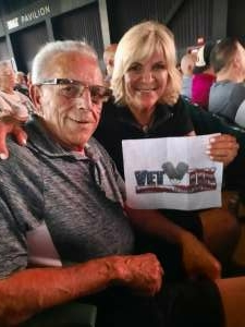 Al attended An Evening With Chicago and Their Greatest Hits on Jul 17th 2021 via VetTix