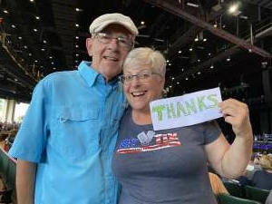 Sue attended An Evening With Chicago and Their Greatest Hits on Jul 17th 2021 via VetTix