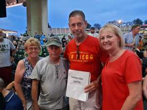 Jim Roberts attended An Evening With Chicago and Their Greatest Hits on Jul 17th 2021 via VetTix