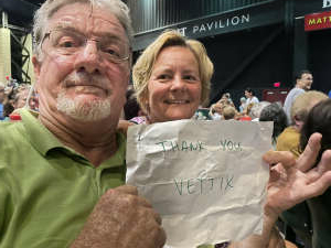 Jim Rogers attended An Evening With Chicago and Their Greatest Hits on Jul 17th 2021 via VetTix
