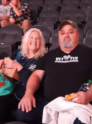 FRANK attended An Evening With Chicago and Their Greatest Hits on Jul 17th 2021 via VetTix