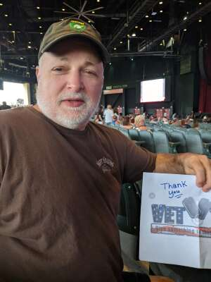 MikeP attended An Evening With Chicago and Their Greatest Hits on Jul 17th 2021 via VetTix