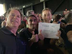Lorry attended An Evening With Chicago and Their Greatest Hits on Jul 17th 2021 via VetTix