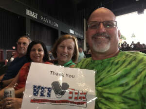 Matt & Jean attended An Evening With Chicago and Their Greatest Hits on Jul 17th 2021 via VetTix
