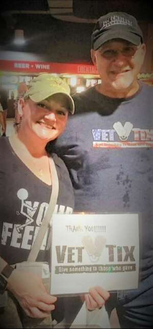 Heather G attended An Evening With Chicago and Their Greatest Hits on Jul 17th 2021 via VetTix