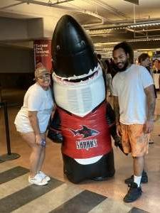 Barry W attended Jacksonville Sharks vs. Columbus Lions - National Arena League on Jul 17th 2021 via VetTix