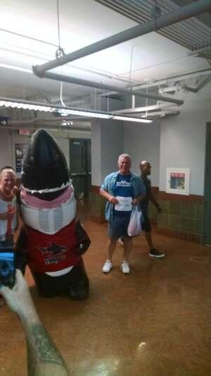 John attended Jacksonville Sharks vs. Columbus Lions - National Arena League on Jul 17th 2021 via VetTix