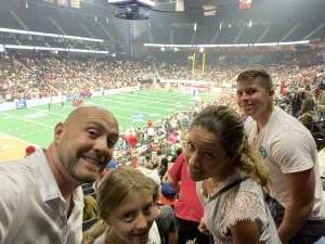 Matt M attended Jacksonville Sharks vs. Columbus Lions - National Arena League on Jul 17th 2021 via VetTix