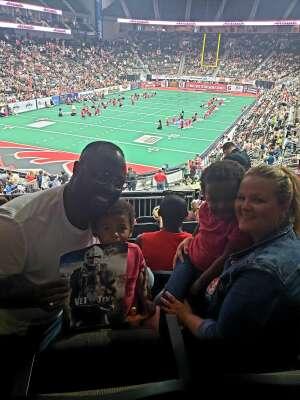 Ty`ere Mosley attended Jacksonville Sharks vs. Columbus Lions - National Arena League on Jul 17th 2021 via VetTix