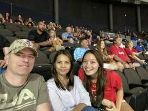 Daren attended Jacksonville Sharks vs. Columbus Lions - National Arena League on Jul 17th 2021 via VetTix