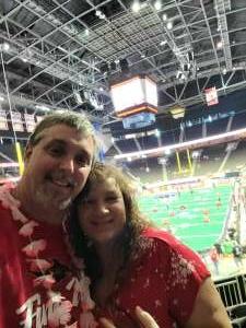 Greg attended Jacksonville Sharks vs. Columbus Lions - National Arena League on Jul 17th 2021 via VetTix
