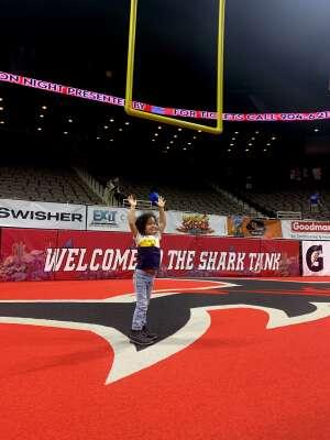 NJ attended Jacksonville Sharks vs. Columbus Lions - National Arena League on Jul 17th 2021 via VetTix