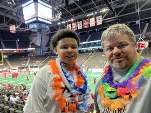 Joe attended Jacksonville Sharks vs. Columbus Lions - National Arena League on Jul 17th 2021 via VetTix
