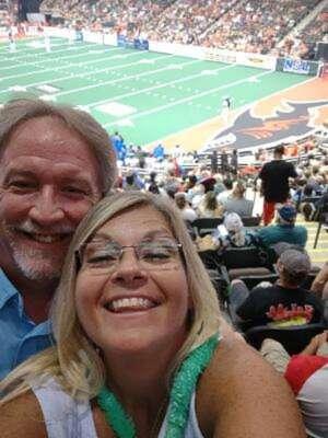 Joe Smith attended Jacksonville Sharks vs. Columbus Lions - National Arena League on Jul 17th 2021 via VetTix