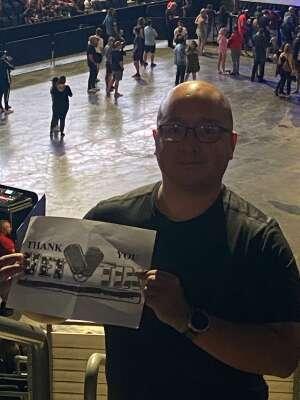 Martin attended Summerland Tour 2021 on Jul 11th 2021 via VetTix
