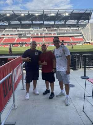 Angel  attended DC United vs. Toronto FC - MLS on Jul 3rd 2021 via VetTix