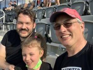 Larry H attended DC United vs. Toronto FC - MLS on Jul 3rd 2021 via VetTix