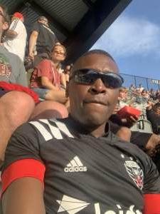 King attended DC United vs. Toronto FC - MLS on Jul 3rd 2021 via VetTix