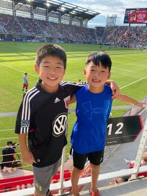 Yc attended DC United vs. Toronto FC - MLS on Jul 3rd 2021 via VetTix