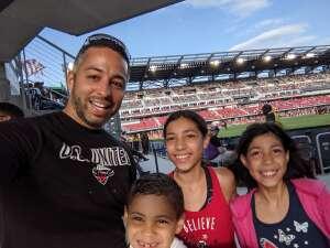 Chris C. attended DC United vs. Toronto FC - MLS on Jul 3rd 2021 via VetTix