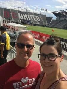 Wilmerd attended DC United vs. Toronto FC - MLS on Jul 3rd 2021 via VetTix