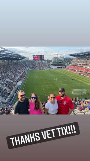 Gabe attended DC United vs. Toronto FC - MLS on Jul 3rd 2021 via VetTix