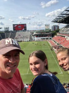 Eric A. attended DC United vs. Toronto FC - MLS on Jul 3rd 2021 via VetTix