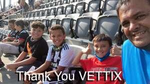 Chaperon Family  attended DC United vs. Toronto FC - MLS on Jul 3rd 2021 via VetTix