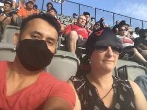 Oscar attended DC United vs. Toronto FC - MLS on Jul 3rd 2021 via VetTix