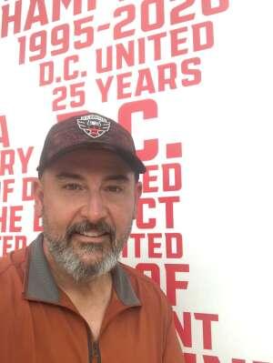 Jim attended DC United vs. Toronto FC - MLS on Jul 3rd 2021 via VetTix