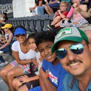 Angela Domingos attended DC United vs. Toronto FC - MLS on Jul 3rd 2021 via VetTix
