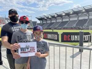 Mike attended DC United vs. Toronto FC - MLS on Jul 3rd 2021 via VetTix