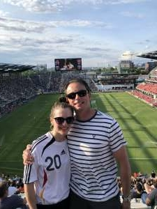 Yujin Cummings attended DC United vs. Toronto FC - MLS on Jul 3rd 2021 via VetTix