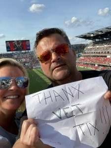 Andy attended DC United vs. Toronto FC - MLS on Jul 3rd 2021 via VetTix