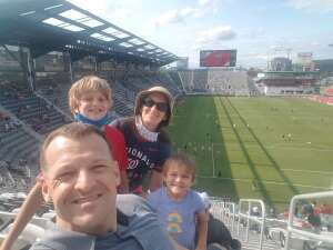 Hackman Family attended DC United vs. Toronto FC - MLS on Jul 3rd 2021 via VetTix