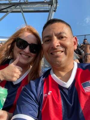 Adrian attended DC United vs. Toronto FC - MLS on Jul 3rd 2021 via VetTix