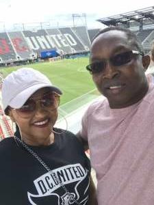 Ernest Merriweather attended DC United vs. Toronto FC - MLS on Jul 3rd 2021 via VetTix