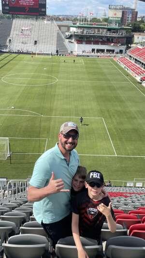 M.C. attended DC United vs. Toronto FC - MLS on Jul 3rd 2021 via VetTix