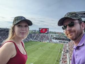 Alan attended DC United vs. Toronto FC - MLS on Jul 3rd 2021 via VetTix