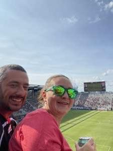 Lorenzo Andreaggi Jr attended DC United vs. Toronto FC - MLS on Jul 3rd 2021 via VetTix