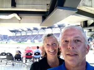 Darryl attended DC United vs. Toronto FC - MLS on Jul 3rd 2021 via VetTix