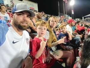 Justin attended FC Dallas vs. Vancouver Whitecaps - MLS - Military Appreciation - Fireworks Show! on Jul 4th 2021 via VetTix