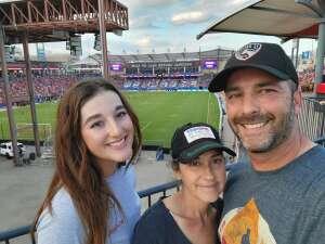 Jeremy attended FC Dallas vs. Vancouver Whitecaps - MLS - Military Appreciation - Fireworks Show! on Jul 4th 2021 via VetTix