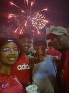David M attended FC Dallas vs. Vancouver Whitecaps - MLS - Military Appreciation - Fireworks Show! on Jul 4th 2021 via VetTix