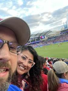 Alex attended FC Dallas vs. Vancouver Whitecaps - MLS - Military Appreciation - Fireworks Show! on Jul 4th 2021 via VetTix