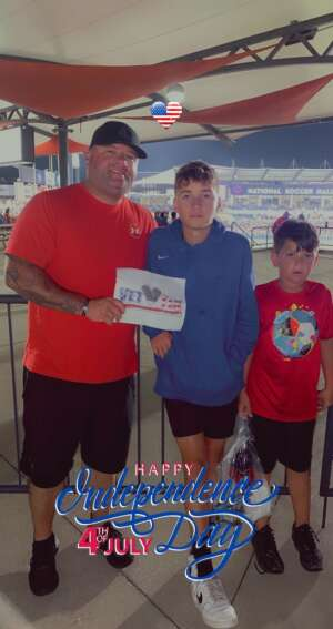 Click To Read More Feedback from FC Dallas vs. Vancouver Whitecaps - MLS - Military Appreciation - Fireworks Show!