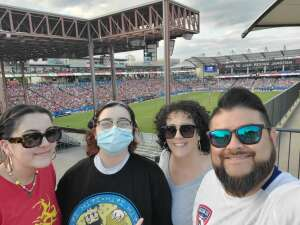 RM attended FC Dallas vs. Vancouver Whitecaps - MLS - Military Appreciation - Fireworks Show! on Jul 4th 2021 via VetTix
