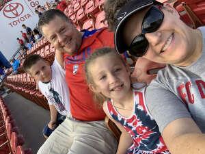 Brian attended FC Dallas vs. Vancouver Whitecaps - MLS - Military Appreciation - Fireworks Show! on Jul 4th 2021 via VetTix